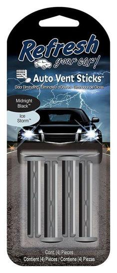 Refresh Car Freshener Vent Stick 4Pk - Ice Storm