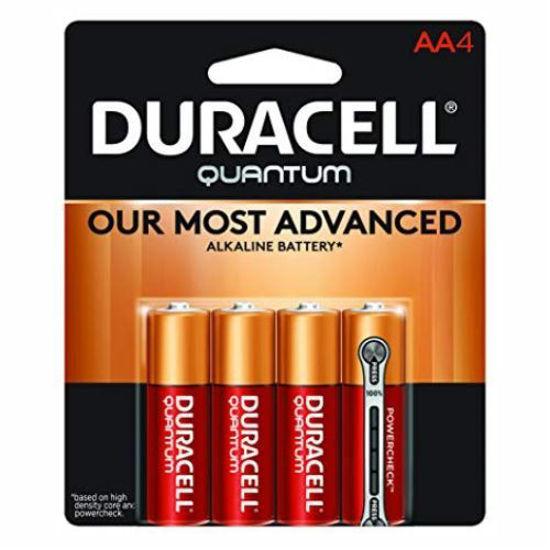 Duracell Quantum Alkaline Batteries, Aa, 4-Pack