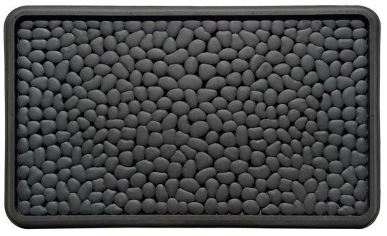 Heavy Duty Rubber Doormat Pebble Design