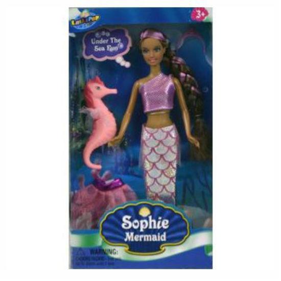 Sophie Mermaid Doll - Black