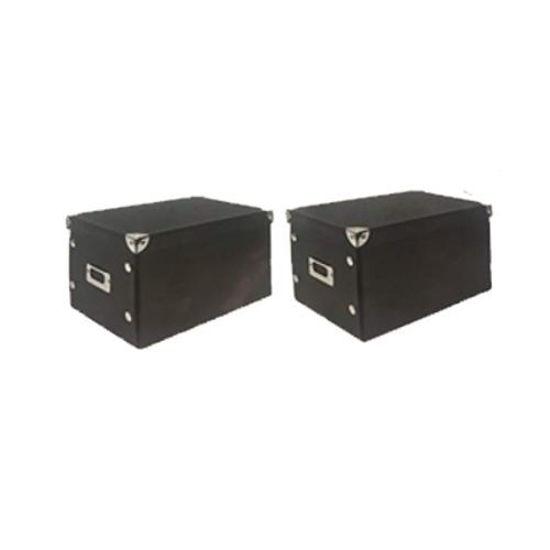 Snap Box Medium 2 Pack Storage Box-Asst
