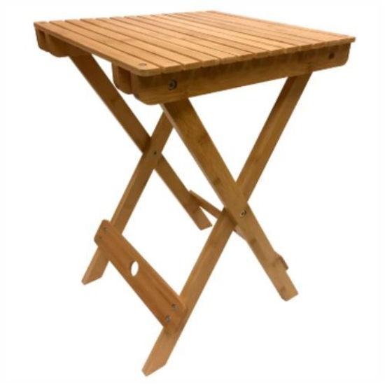 "Spa Sensations Bamboo Foldable Bench13.6""X13x19"""