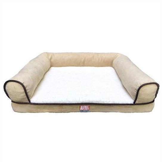 Paw Club Rectangular Dog Bed 27.5X22