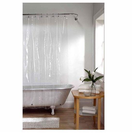 "Peva Shower Curtain Clear 72""X72"""