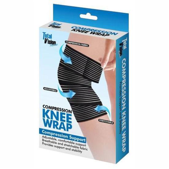 Total Vision Compression Knee Wrap
