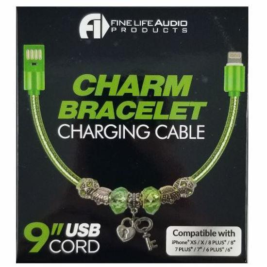 "9"" Charm Bracelet Charging Cable"