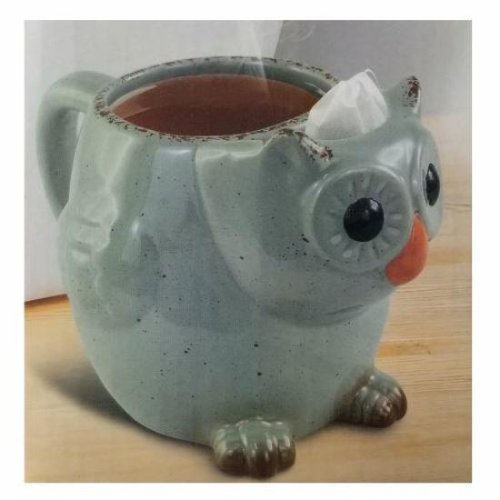 Owl Ceramic Tea Mug 14 Oz