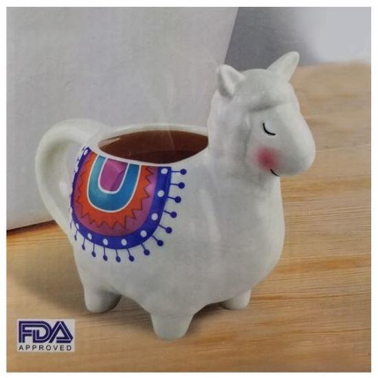 Lamb Ceramic Tea Mug 14Oz