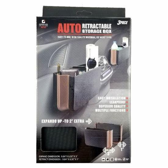 Auto Retractable Storage Box 3Pc