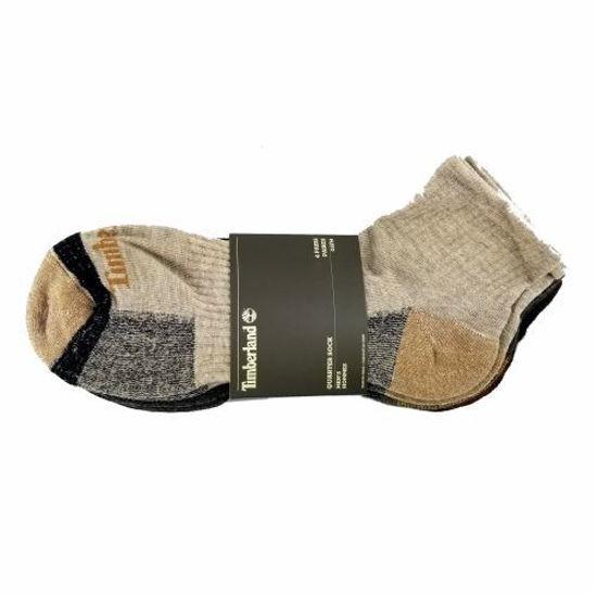Timberland Men's Quarter Socks 4 Pairs -