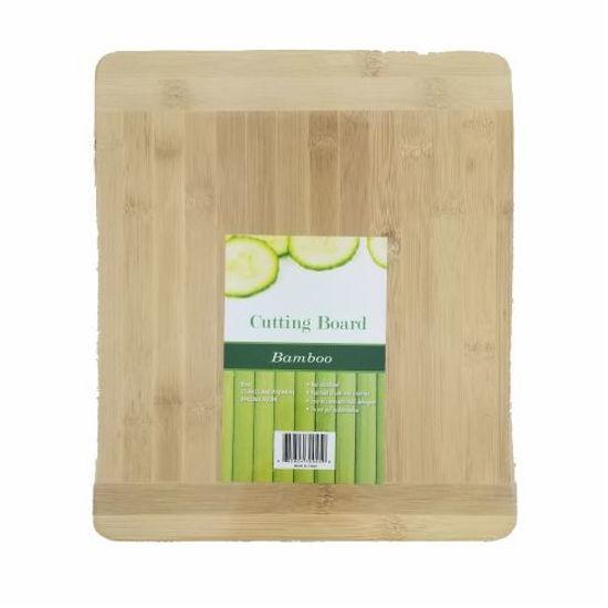 Bamboo Cutting Board W/ Handle Medium