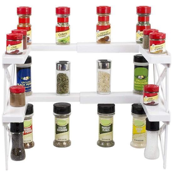 Expandable Spice Shelf-3 Tier