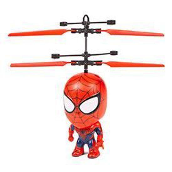 "Spider-Man Big Head Flying Figure Rc Heliball-4"""