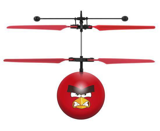 Rovio Angry Bird Movie Red Rc Heliball