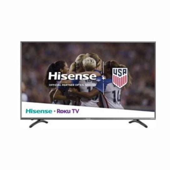 "Hisense 50R610950"" 4K Uhd Hdr Smart Roku Tv"
