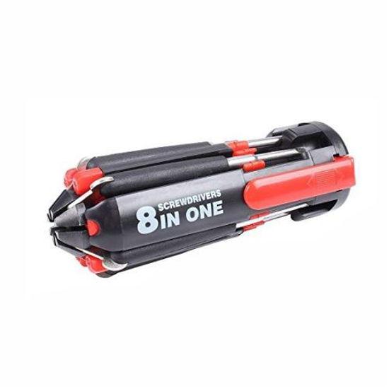 Itek Led T6 Flashlight, Worklight, 8In1 Screwdriver Kit