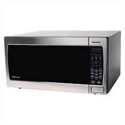 "Panasonic 1.3 Cu. Ft. ""B"" Stainless Steel Microwave"