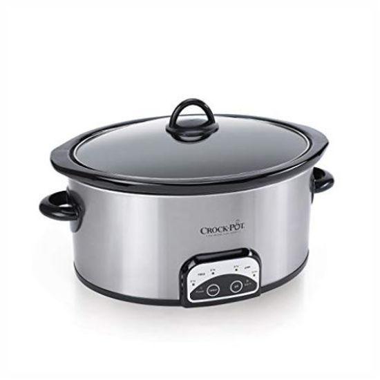 Crockpot 6Qt Smart Slow Cooker-Stainless Steel