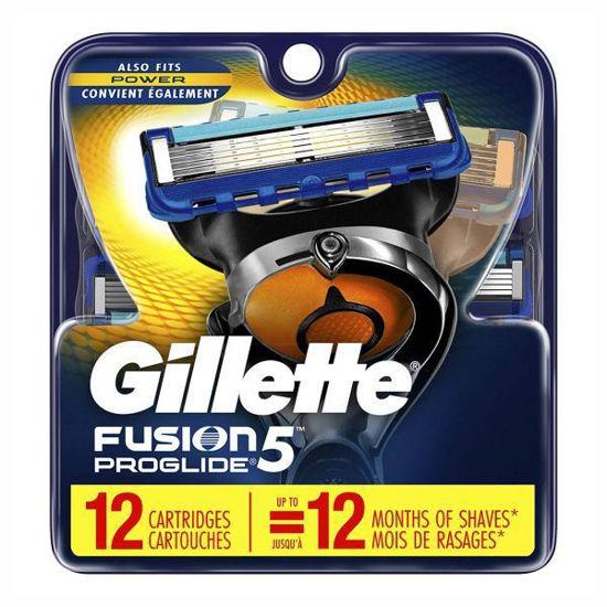 Gillette Fusion Proglide Refills-12 Cartridges