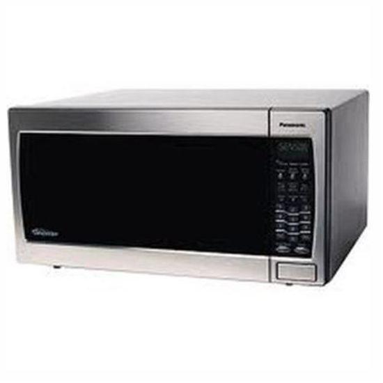 "Panasonic 1.6 Cu. Ft. ""B"" Stainless Steel Microwave"