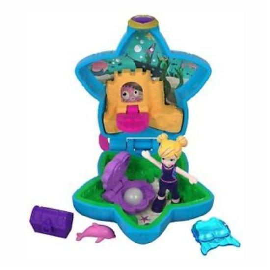 Polly Pocket Tiny World Playset-Beach Time