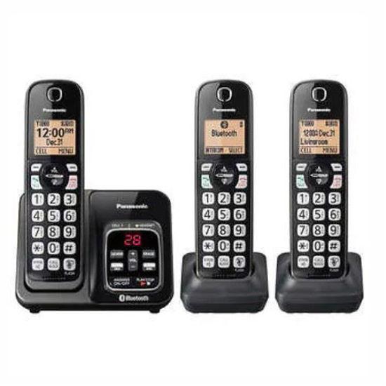 Panasonic Kxtg273 Dect6.0 3Hs Exp.Cls Phn W/L2c/T.Cid/Ans