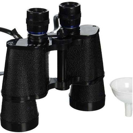 Double Barreled Binocular Flask