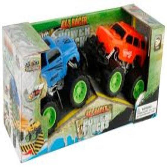 Monster Truck Pull Back Car 2Pack