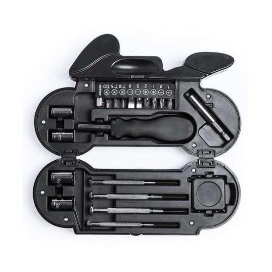 22Pc Tool Set W/ Led Light