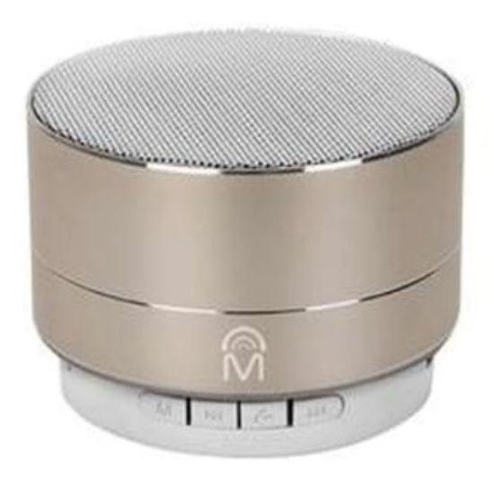 Mental Beats Urban Aluminum Bluetooth Speaker, Gld
