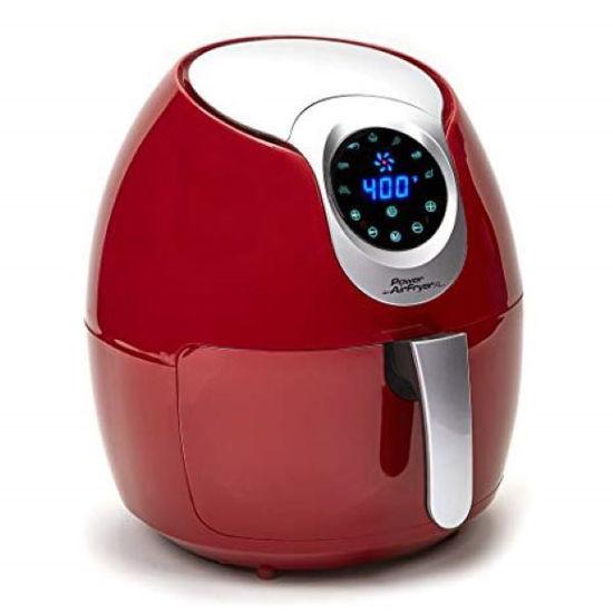 Power Air-Fryer Xl 5.3Qt (Red)