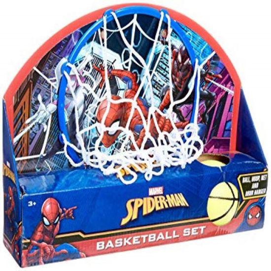 Spiderman Over The Door Basketball Set
