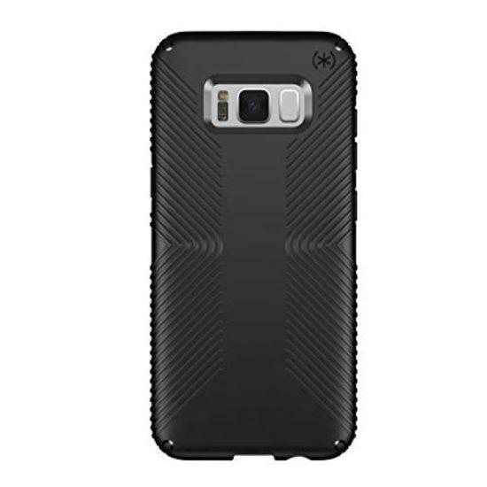 Speck Presidio Grip Galaxy S8+ Case - Blk