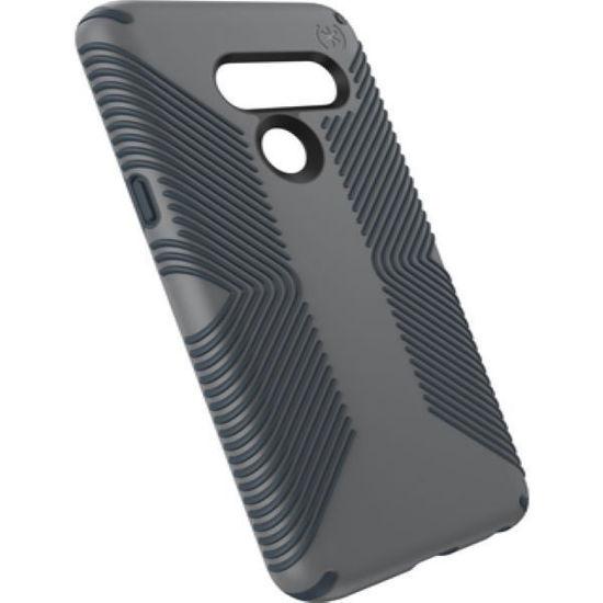 Speck Presidio Grip Lg G8 Thinq Case- Chrcl Grey