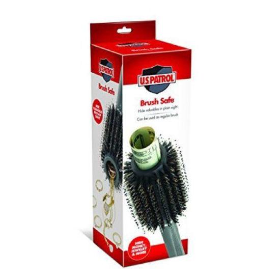 Hair Brush With Hidden Safe