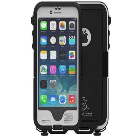 Snow Lizard Sltough Iphone 6-6S Case - White