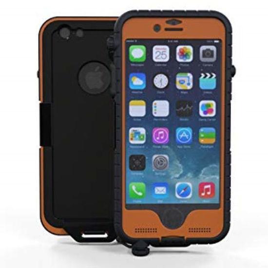 Snow Lizard Sltough Iphone 6-6S Case - Orange
