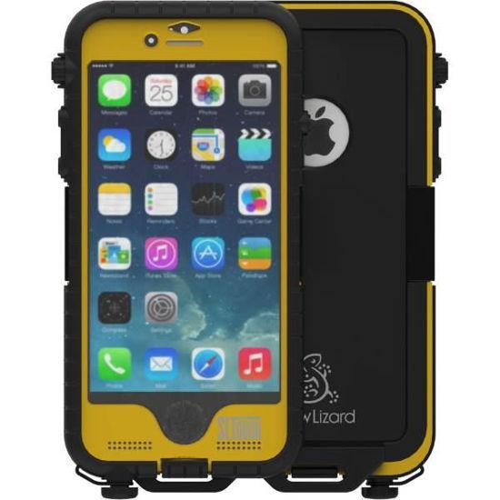 Snow Lizard Sltough Iphone 6-6S Case - Yellow