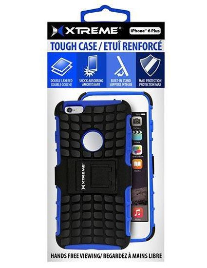 Xtreme Tough Case F/Iphone 6/6S Plus (Blue)
