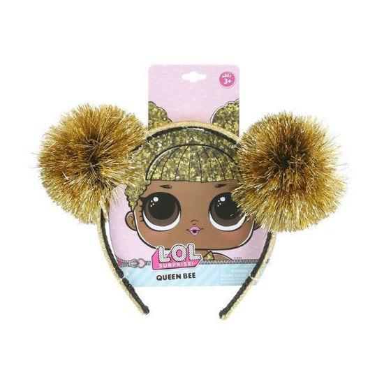 Lol Tinsel Pom Headband-Queen Bee