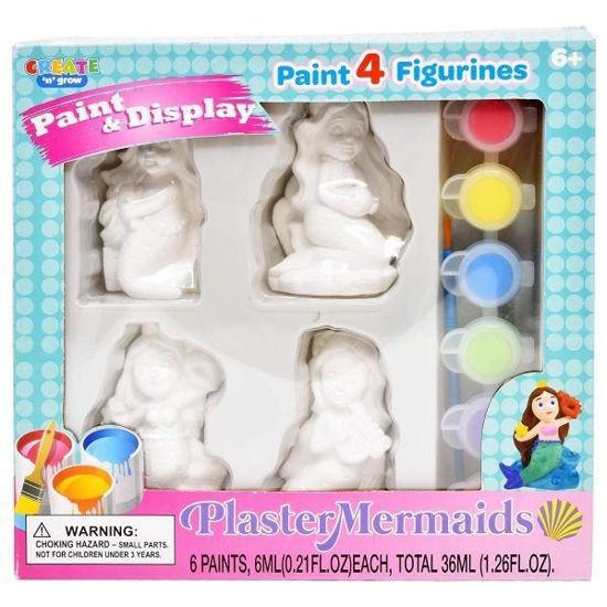 Plaster Mermaids Paint & Display