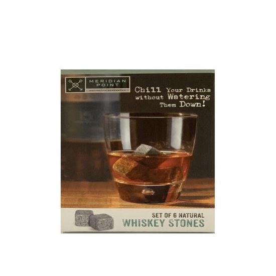 Natural Whiskey Stones-6 Pk
