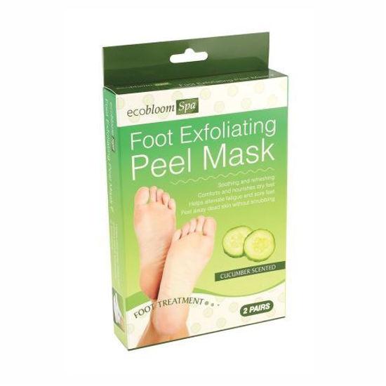 Cucumber Exfoliating Foot Peel Mask-2Pk