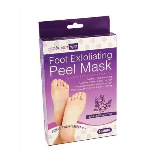 Lavender Exfoliating Foot Peel Mask-2Pk