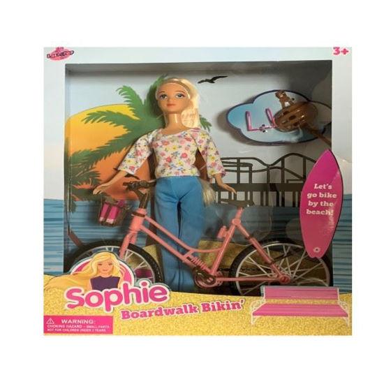 Sophie Doll W/ Bicycle