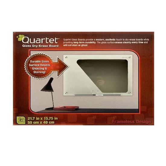 Quartet Magentic Dry Erase Board-White 17X17