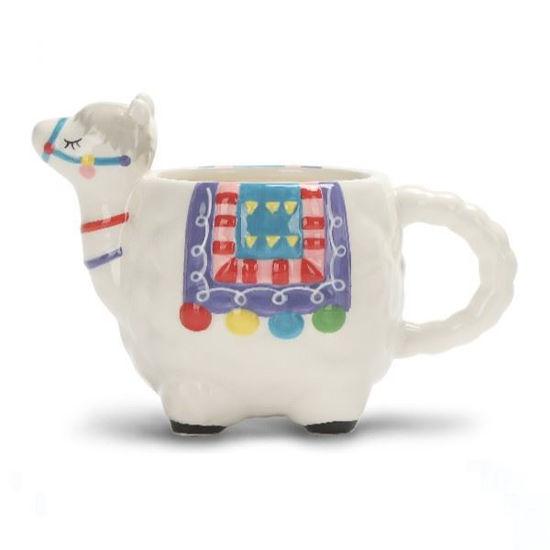 Llama Ceramic Tea Mug 14Oz