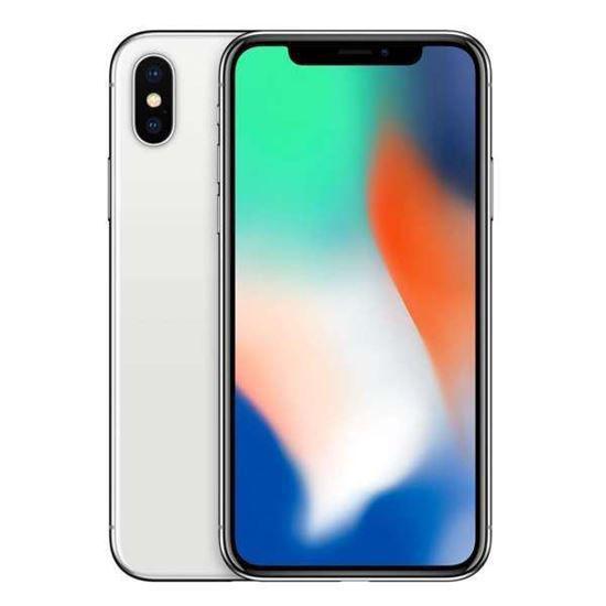 Apple Iphone X 64Gb Unlocked Smartphone-Silver