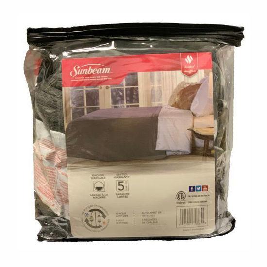 Sunbeam Micro Plush Hested Blanket-Castle Rock