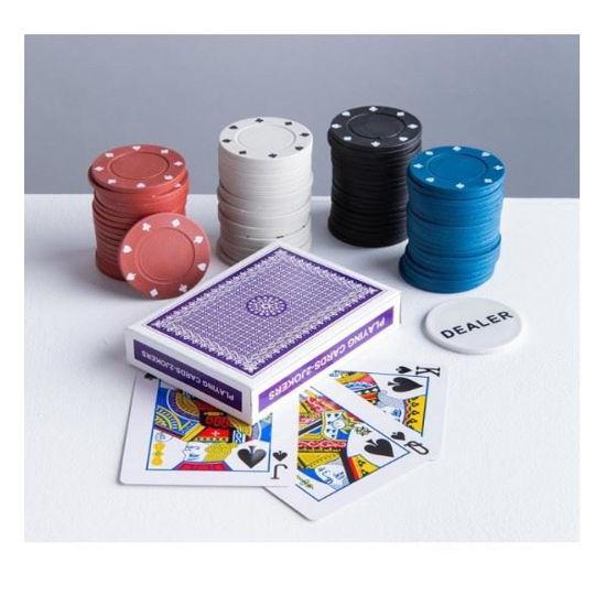 Buzzy Tabletop Poker Set
